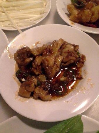 Hotpot Culture: This chicken really taste yucks!!!! Not nice!