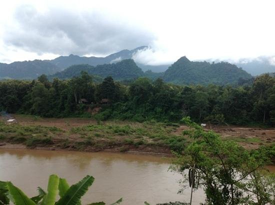 Lao Spirit Resort: View from our Cabin