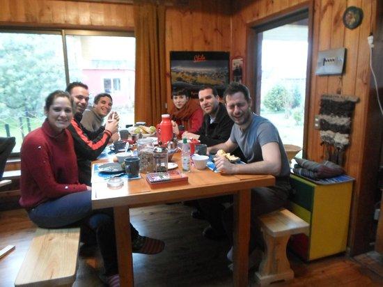 Hostal Casa Satya: Comedor