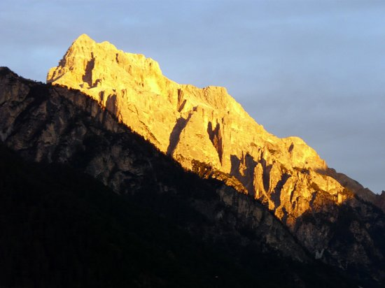 Excelsior Dolomites Life Resort: Monte Sella di Sennes