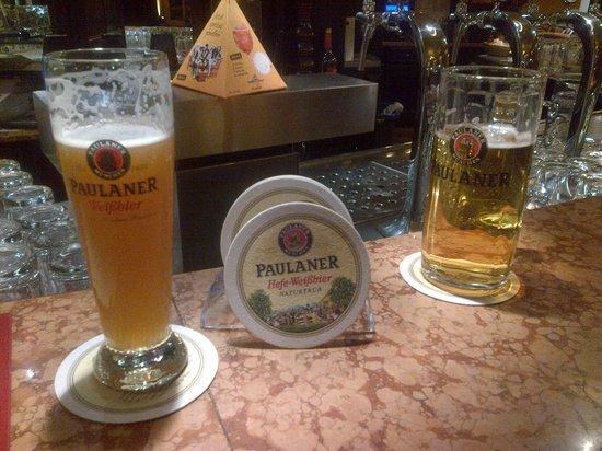 Paulaner's im Taschenbergpalais: beer
