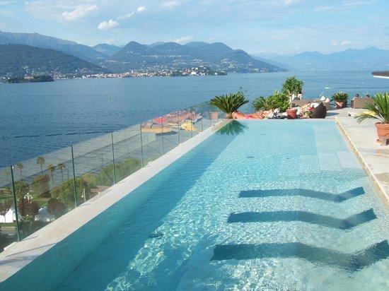 La Palma Hotel: Sky bar pool