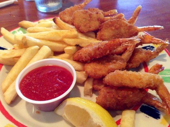 Ramona Valley Grill: Fried shrimp