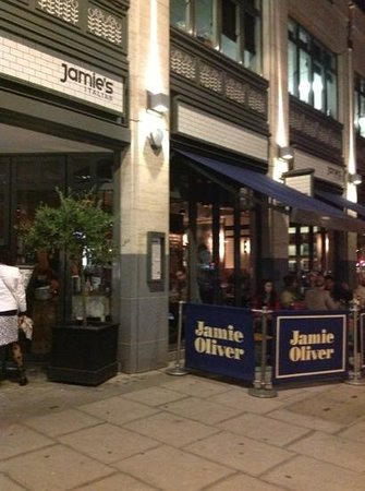 Jamie Oliver's Italian: From the entrance