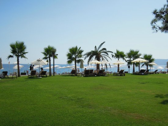 Club Med Palmiye: The beach front