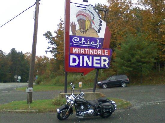 Martindale Chief Diner: Diner sign