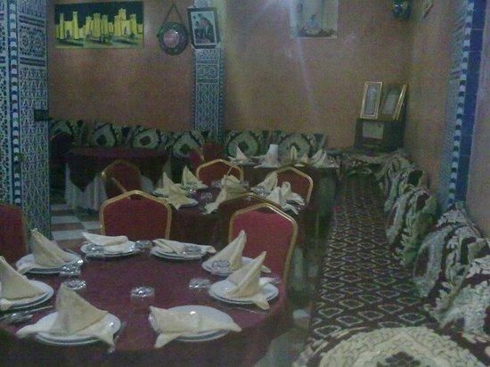 Restaurant Gout de Meknes: Rais de chaussée