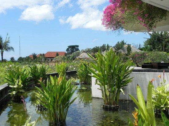 AYANA Resort and Spa: Aussicht vom Dava Restaurant