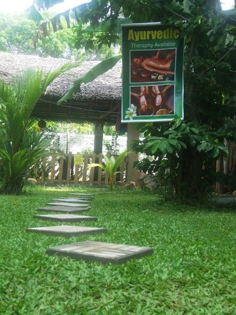 Ayurveda Lanka Spa: Entrance to the Ayurveda