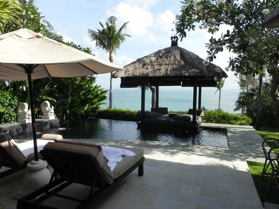 Ocean Front Villa Pool Picture Of Ayana Resort And Spa Bali Jimbaran Tripadvisor