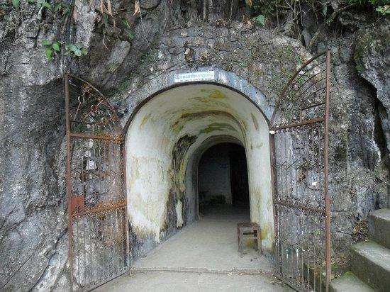Tham Chang Cave : la entrada
