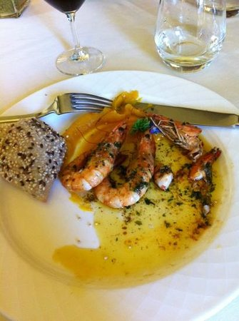 Auberge du Fiacre : squash puree on the side, lots of garlic