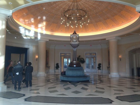 Waldorf Astoria Orlando : The front lobby .. Photo taken from back side ... Elegant.