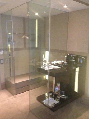 The House Hotel Nisantasi: luggage area, and mini bar area