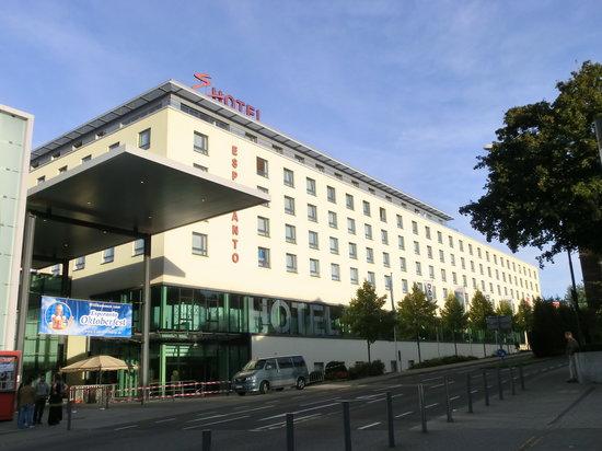 Hotel Esperanto: frente do hotel