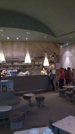 Este Oeste Pizza Sushi Cafe: cafe