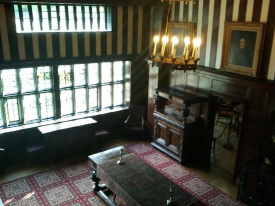Shibden Hall: the main hall
