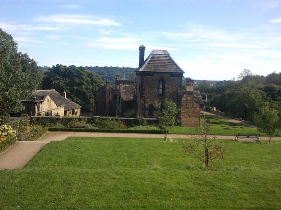 Shibden Hall: view of hall