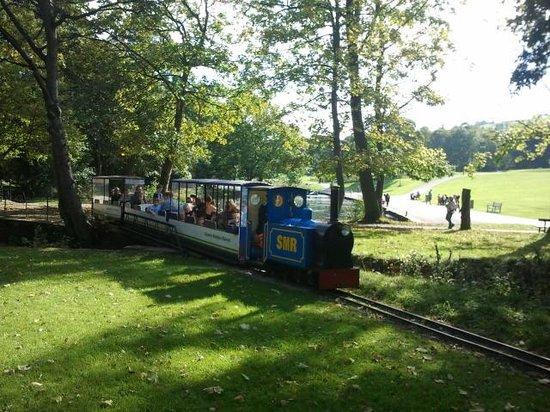 Shibden Hall: minature railway
