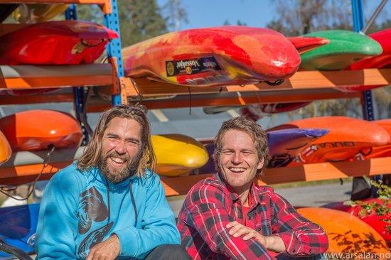 Kayak Voss Day Tours: Julian and Dag