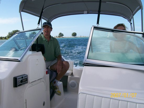 Clearwater Sunset Picture Of Irb Boat Rentals Indian