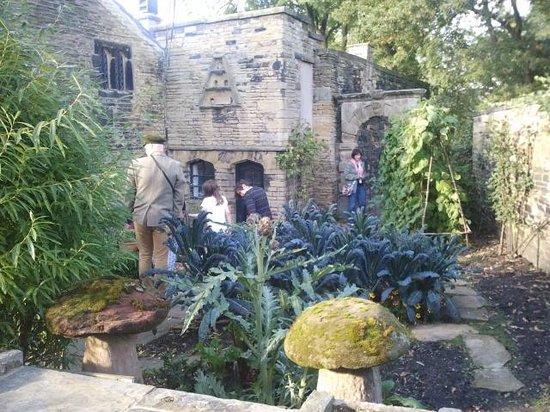 Shibden Hall: herb garden