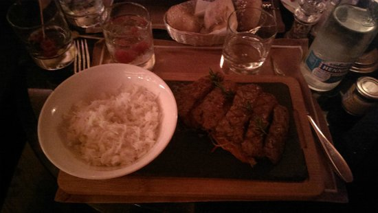 Funky Claude's Bar : New York Strip.