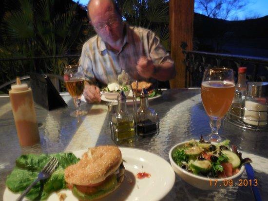 Panamint Springs Resort: Veranda des Restaurants