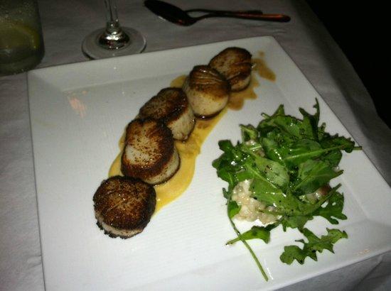 Stella Restaurant: Scallops Risotto