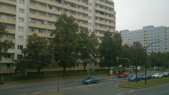 Blick Zimmer Strasse Bild Von Achat Comfort Dresden Dresden