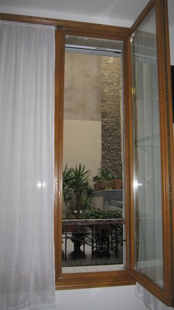 Hotel Darcet: View from Room 8