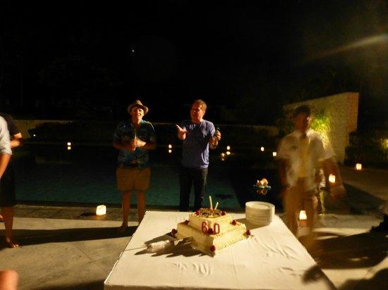 The Bali Khama Beach Resort & Spa: Pool party