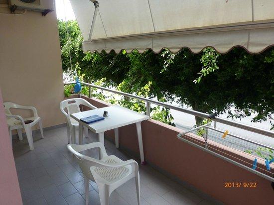 Hotel Sea Side: Balkongen