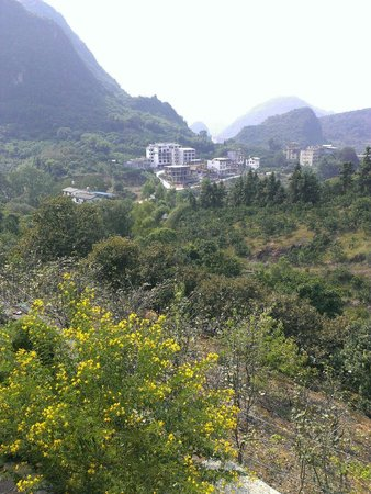 Xishan Xiuju Hostel : A view from my window !