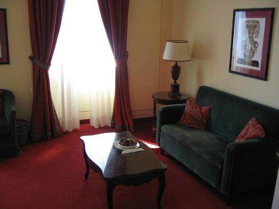 Grand Hotel Majestic: Junior Suite - living area
