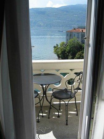 Grand Hotel Majestic - balcony overlooking Lago Maggiore