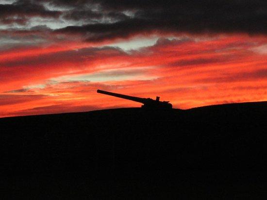 September Sunset at Fort Moultrie