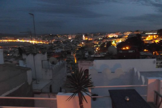 Dar Nour: view from roof terrace