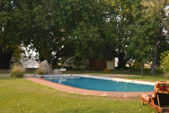 Waterberry Zambezi Lodge: The super pool...