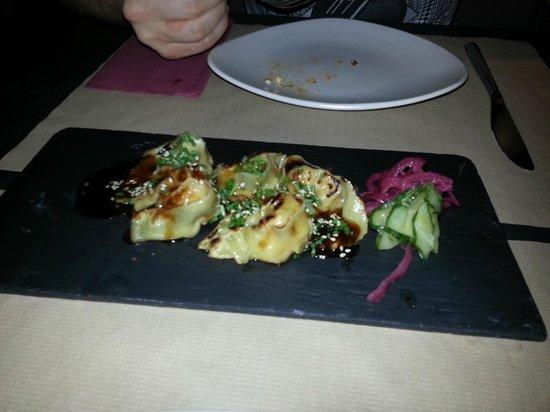 Koh: Prawn and langoustine dumplings