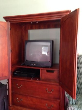 Essex Street Inn & Suites: TV!