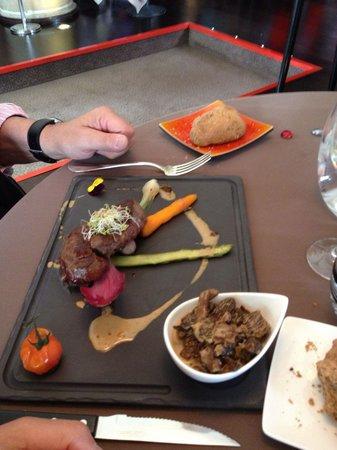La Tivollière : Belle assiette ...
