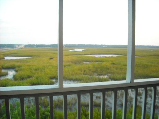 The Sunset Inn : March View from Private Screened Porch