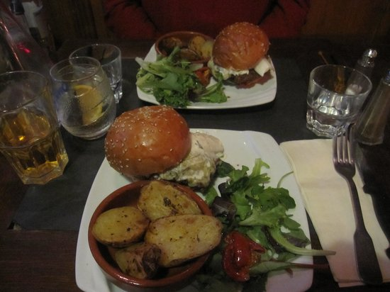 Le Mal Barré : Le Bleu burger