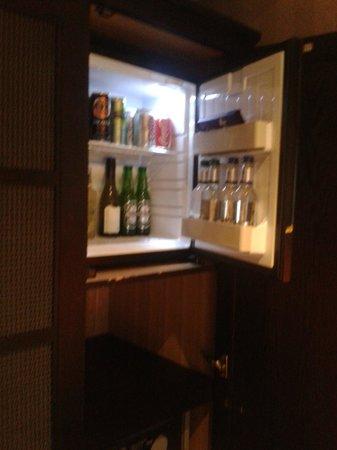 Malmaison Reading: Mini bar in wadrobe