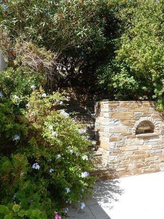 Villa Galazio: Garden entrance