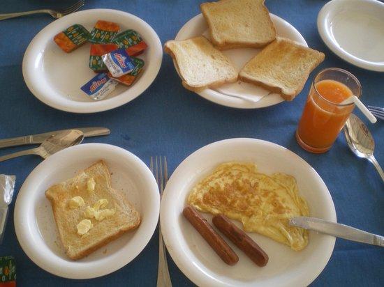 Onreech Hotel: Frühstück