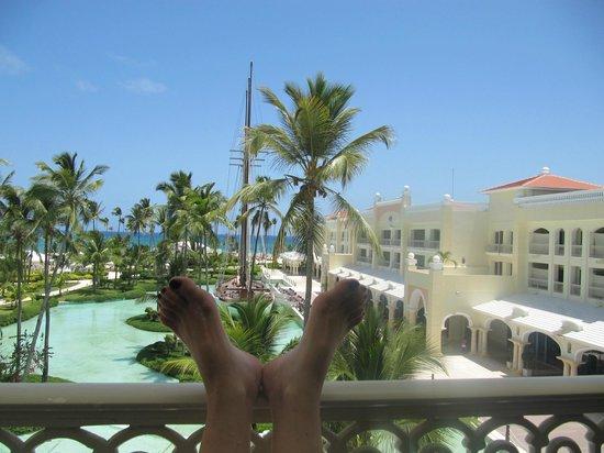 Iberostar Grand Hotel Bavaro: Mein Balkon Habitation 7357