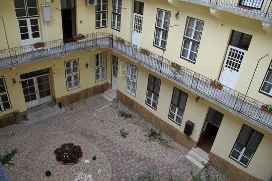 Central Hotel 21: Il cortile interno