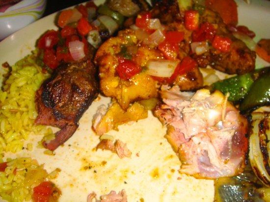 El Patio: Pincho (Kebabs)